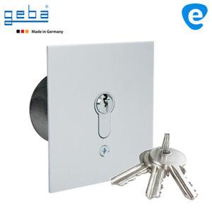 Schlüsseltaster Schlüsselschalter mit PHZ Tor Antrieb Motor Garagentor MR1-1T