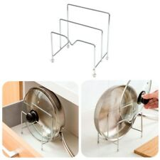 Stainless Steel Pot Rack Pan Cutting Board Organizer Holder For Cheap Kitchen A