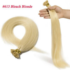 200 Strands I Tip Hair 100g Stick Tip Remy Human Hair Extensions Micro Ring Bead