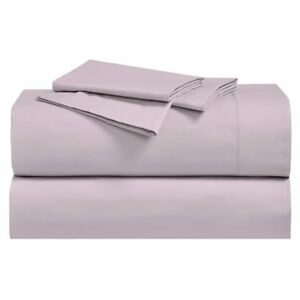 100% Cotton Cool Percale Weave Crispy Soft Breathable Deep Pocket Sheets Set