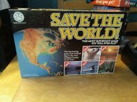 Save The World! Board Game-By Crown Andrews 1990