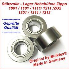 1 X Führungslager Stützlager Hubwagen passend für Zippo Hebebühne 1301 1311 1312