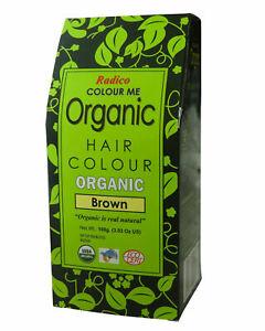 Radico Colour Me Organic Hair Colour  Brown 100g Made In India