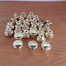 "Brass Hardware Drawer Knobs Pulls  28 Pieces  D  1 1/16""  770 A 1"