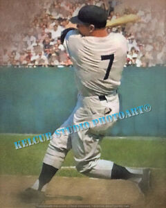 Mickey Mantle NY New York Yankees The Mick Oil Print Style Var Options & Sizes