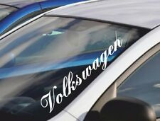 55cm Windscreen Decal VOLKSWAGEN Funny Vinyl Car Sticker Window/Body GOLF POLO