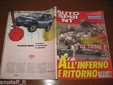AUTOSPRINT 1994/43=WENDLINGER=FERRARI DAY MUGELLO=ROGER PENSKE=TROFEO FIAT=