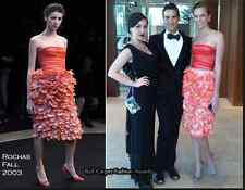 ICONIC ROCHAS CORAL FLOWER PETAL DRESS XS, ORIGINALLY OVER $10,000.00!!