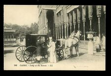 Egypt CAIRO Lady of the Harem LL PPC
