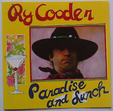 Ry Cooder  Paradise And Lunch CD Alemania