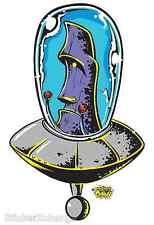 Cosmic Moai Sticker Decal Art Dirty Donny DD11