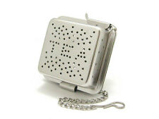 Stainless steel square shape TEA infuser