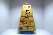 Rare Vintage Disney Wooden Toy with Revolving Sections