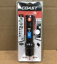 COAST Polysteel 650 Heavy-Duty 710 Lumen Waterproof LED Flashlight With Twist