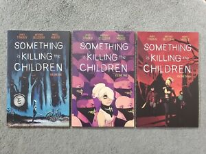 Something Is Killing The Children VOL 1 2 3 Set TPB Trade Collects issues 1-15