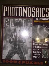 "*New* Robert Silvers Elvis Presley Photomosaics 1000 Piece Puzzle ""68 Special"""