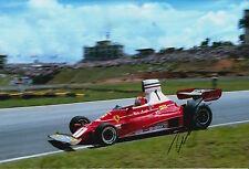 Niki Lauda Hand Signed Scuderia Ferrari F1 12x8 Photo 1.
