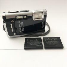 Olympus Stylus Tough 6020 Shock and Waterproof 14.0MP Digital Camera - Black