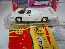1/43 vitesse porsche 956 American 100's Le Mans 1985 Blanc M. Décalques sm29