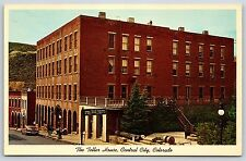 The Teller House Hotel in Central City, Colorado Chrome Postcard Unused