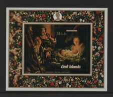COOK ISLANDS 1972 CHRISTMAS M/SHEET *MNH*