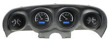 Dakota Digital 69 70 Ford Mustang Analog Dash Gauges Black Blue VHX-69F-MUS-K-B