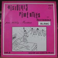 TEDDY MARTINO AVEC RECTANGLE BLANC HISTOIRES PIMENTEES VOL.2 FRENCH LP