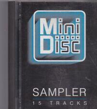 Sampler-18 Tracks  minidisc Album
