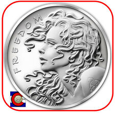 2013 SBSS Freedom Girl 1 oz. Silver Coin in airtite-Silver Bullet Silver Shield