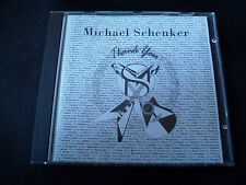 Michael Schenker - Thank You CD 1993 SCORPIONS THE MSG GROUP UFO TEMPLE OF ROCK