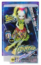 Monster High Electrified Frankie Stein Doll High Voltage