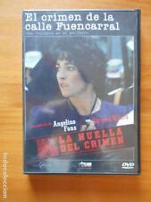 DVD EL CRIMEN DE LA CALLE FUENCARRAL - CARMEN MAURA - LA HUELLA DEL CRIMEN (7R)