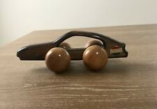 Vintage Datsun Wooden Toy Car Pull Toy - Back Massager