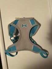 Top Paw Comfort Harness Blue And Gray With Dog Bone Logo Size Large or Medium