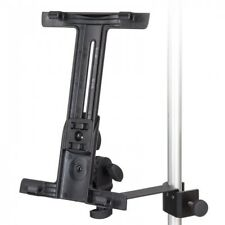 KINSMAN KIP01 CLAMP-ON TABLET / I-PAD HOLDER - TO ATTACH TO MIC STANDS / POLES