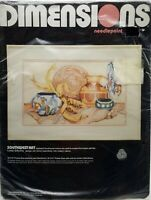 Needlepoint Kit Southwest Art Pottery Dimensions New Vintage 1988