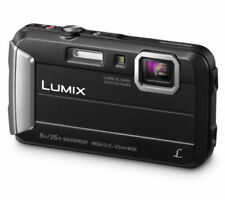 PANASONIC Lumix DMC-FT30 EB-K Tough Compact Camera in Black (UK Stock) BNIB