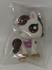 LPS LITTLEST PET SHOP WHITE PONY #578  RARE BRAND NEW IN SEALED BAG HASBRO