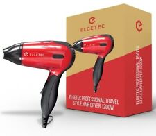 1200W COMPACT FOLDING TRAVEL HAIR DRYER VOLTAGE HAIR BLOW DRYER ELGETEC Z12
