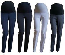 838199aecc617 Smart Maternity Skinny Work Trousers Office Formal Elegant Size 8 10 12 14  16 18