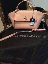 Galerie Lafayette  Hector E16 Unique Rose CrossBody Removable Straps Bag New