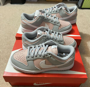 Nike Dunk Low Soft Grey Pink Oxford (W) Size 5 8.5 Brand New Priority Shipped
