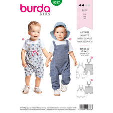 Burda Kids Sewing Pattern Baby Bidded Trousers Size 3 Minths to 2 Years 9337