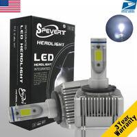 D1S D3S 110W 26000LM CREE LED Headlight Kit Car DRL Lamp High Low Beam Bulbs 6K