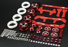 YIKA DARK HORSE Modify Parts Aluminum Alloy Wheels Guide Rollers Reinforcing Pla