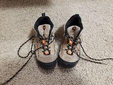 Merrell Chameleon Mid Waterproof Hiking Boots 12 Kids Walnut Tan Youth Shoes