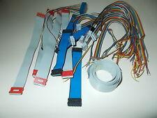 Flachbandkabel, verschiedene, z. T. mit Stecker, #K-1-29