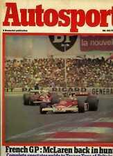 Autosport 8th de Julio 1976 * * Gran Premio Francés