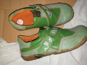 TMA EYES Schuhe Gr. 41 in grün Lagenlook Designer Schuhe neu