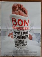 Plakat Gutschein Erholung Jean Becker Gérard Lanvin 40x60cm